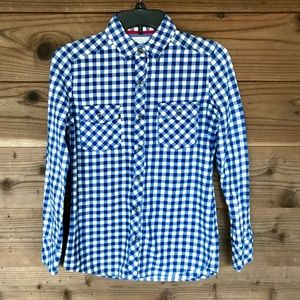 Johnnie b Button Up Flannel 100% Cotton Sz S
